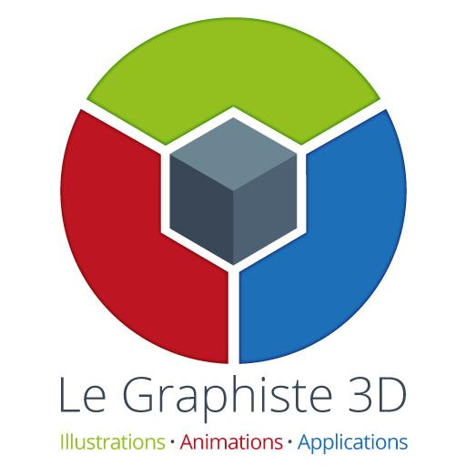 Le Graphiste 3D Logo