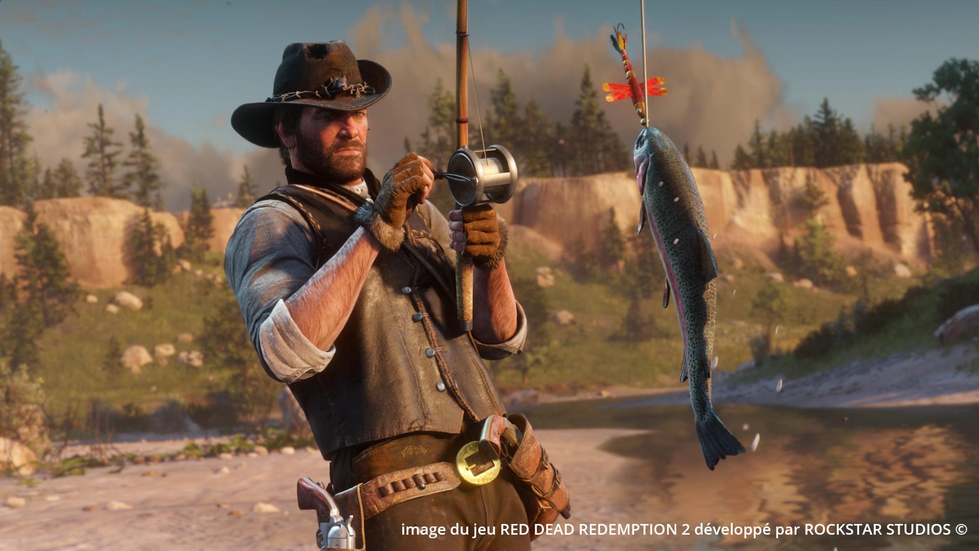 Photoréalisme - exemple avec une image du jeu Red Dead Redemption 2 - Le Graphiste 3D