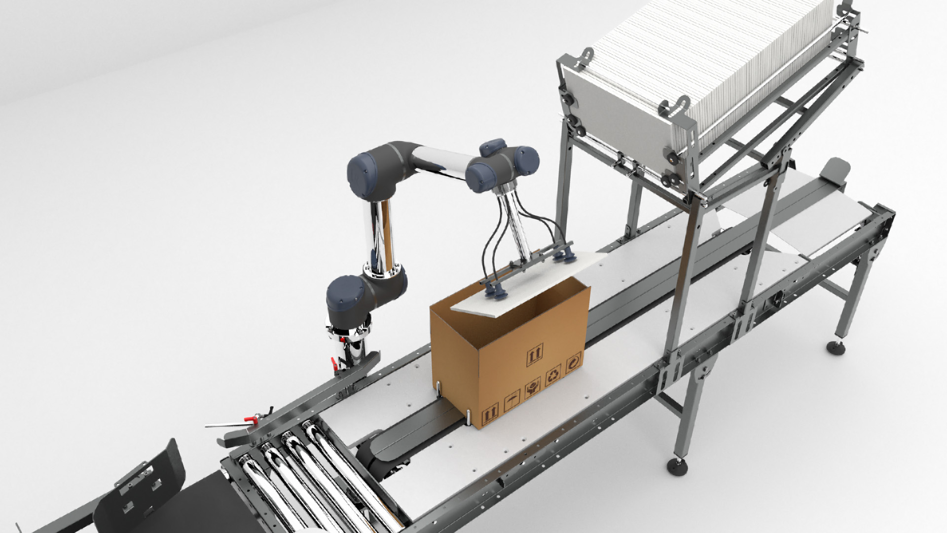Animation 3D - animation par clé d'un bras robotisé - Le Graphiste 3D