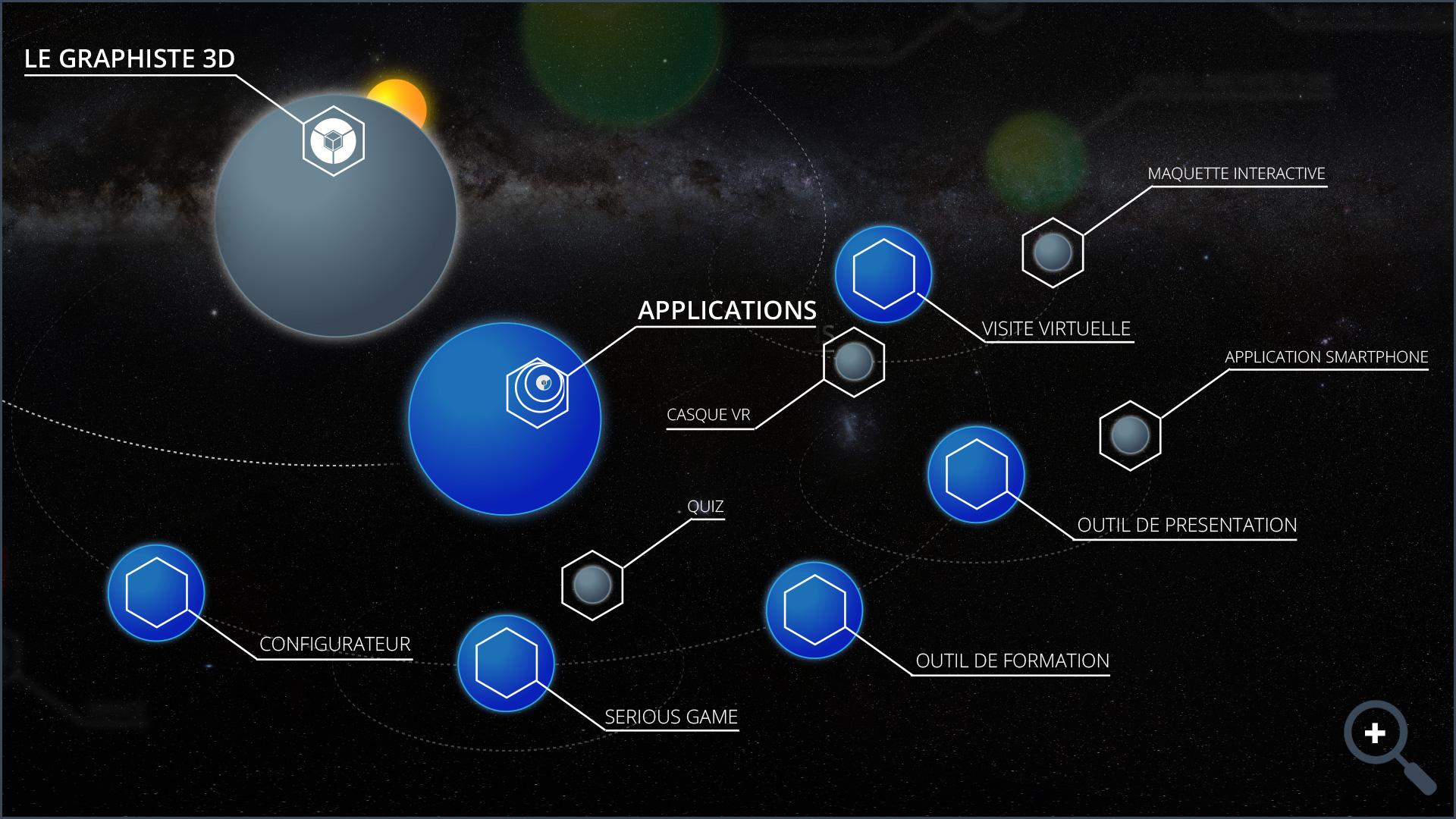 Réalisations - Applications - Le Graphiste 3D