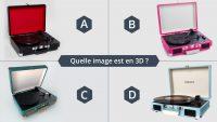 Serious Game - Jeu - Tourne-disque - Le Graphiste 3D