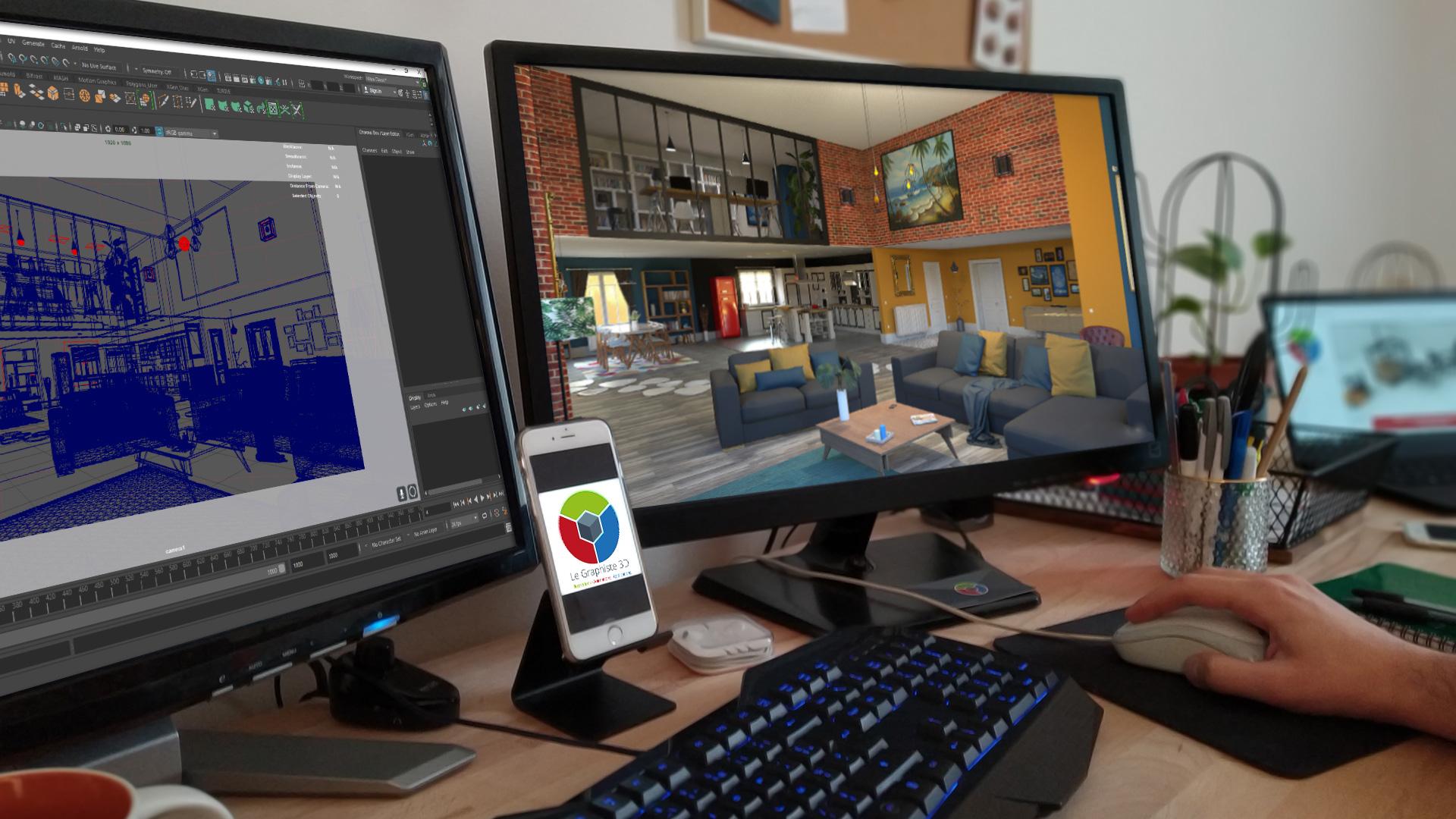 Le Graphiste 3D - Présentation générale du studio