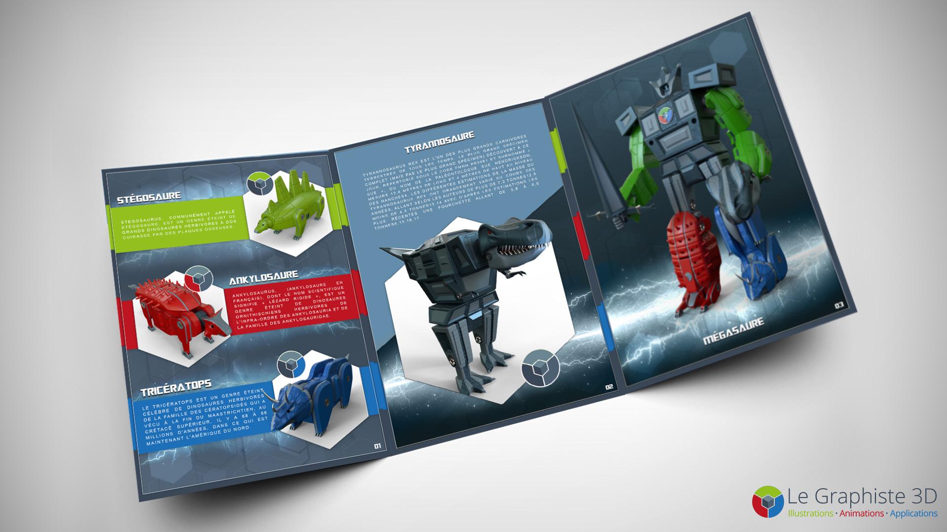 LG3D - Brochure produit - Robot Mégasaure