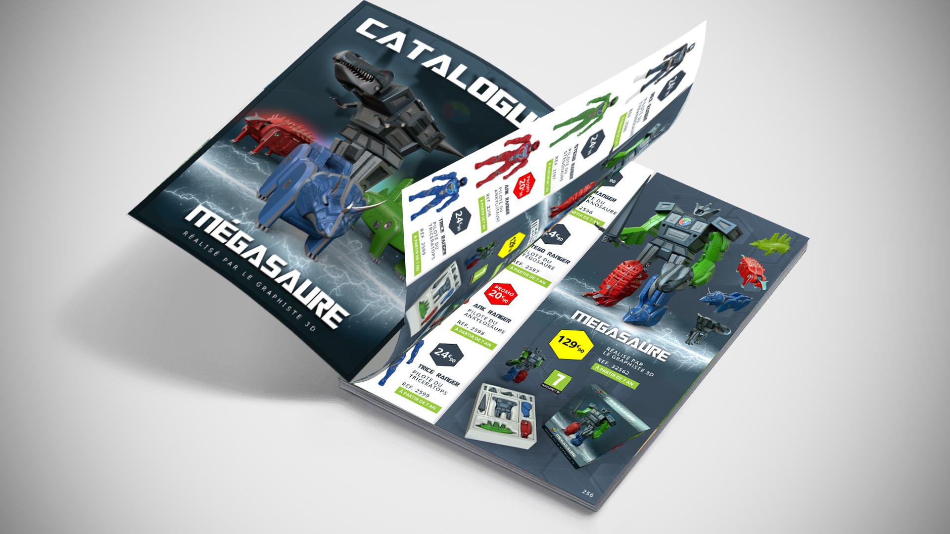 LG3D - Catalogue - Robot Mégasaure