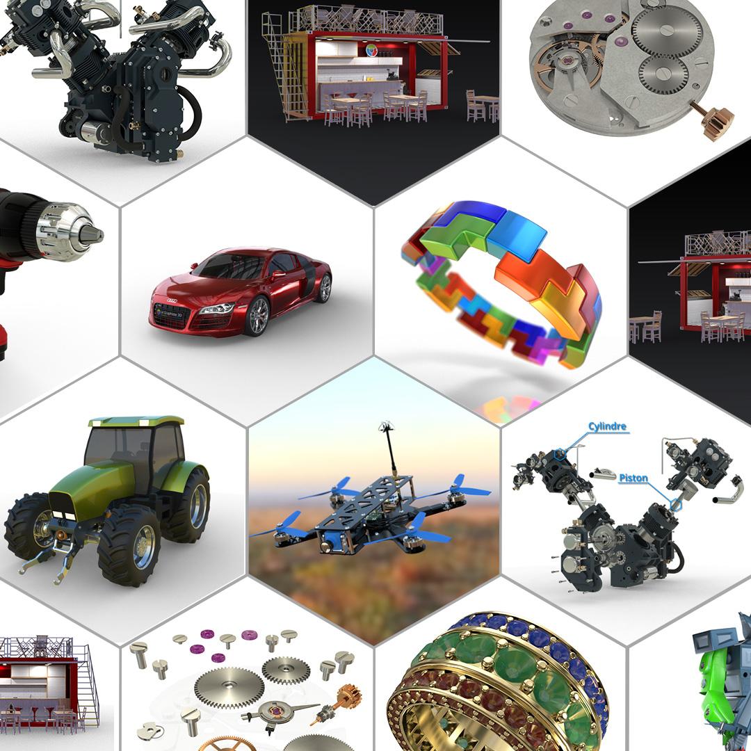 Le Graphiste 3D - Packshots 360 - Multiples usages - Présenter, Expliquer, Vendre