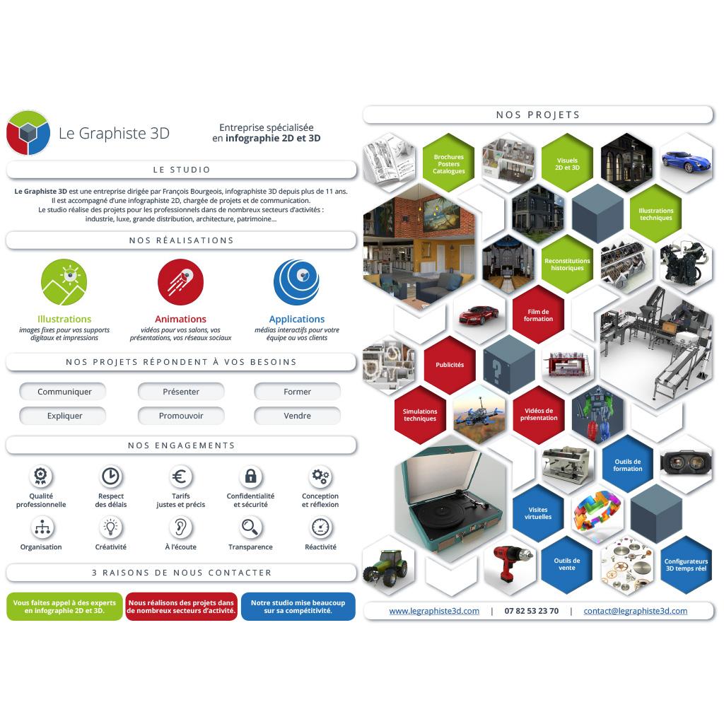Le Graphiste 3D - Brochure
