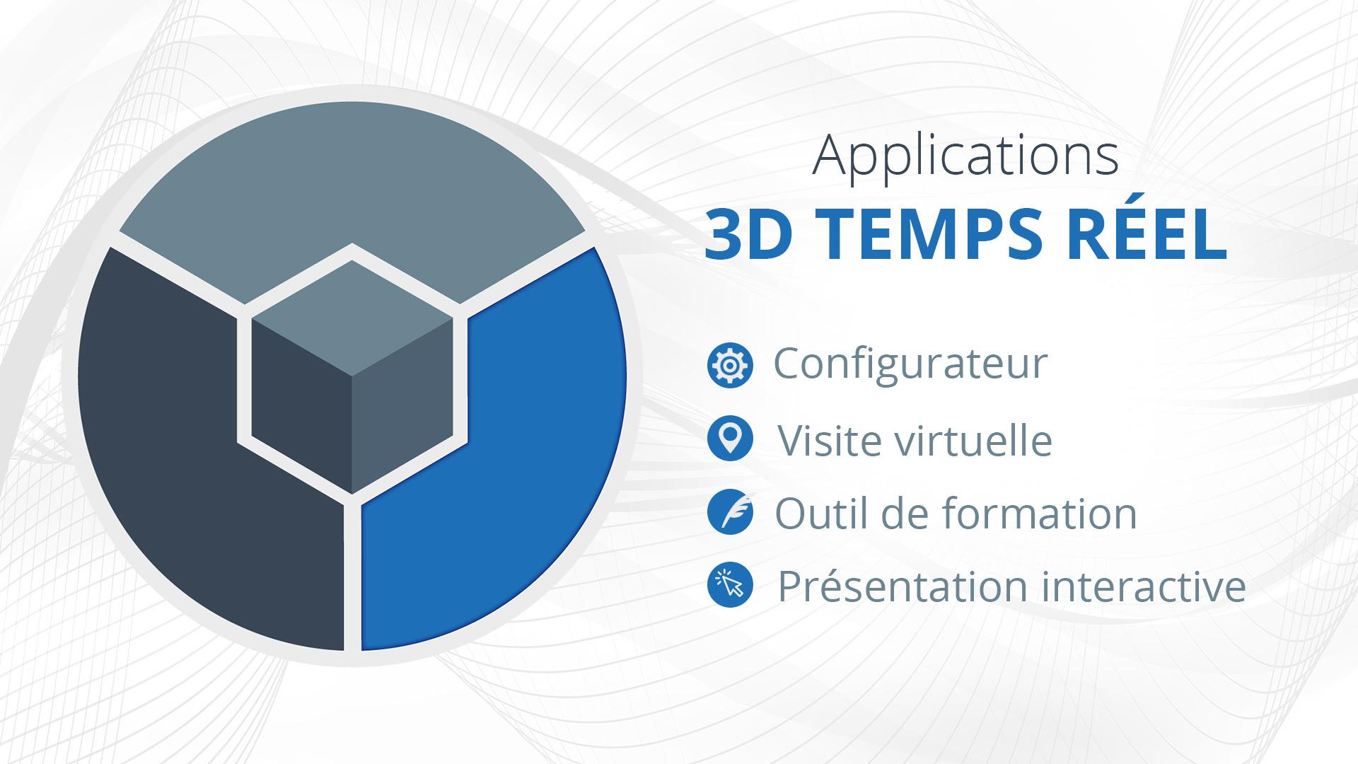 Les applications 3D temps réel possible sur Stadia ?